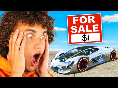 GTA 5 But Everything Costs $1