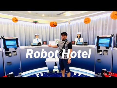 Japan's Robot Hotel #Henn na Hotel Asakusabashi #Weird Robot Hotel