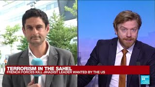 Terrorism in the Sahel: French forces kill IS jihadist leader wanted by US • FRANCE 24 English