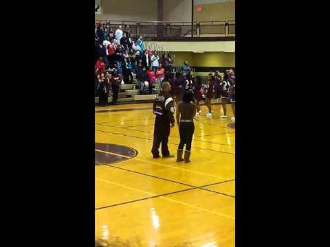 Aye Cee & Myles National Anthem at Romulus High