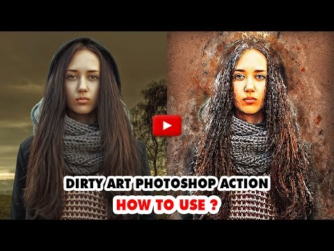 Dirty Art Photoshop Action - Video Tutorial | Mesothelioma Attorney Directory Of Photoshop