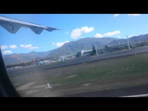Start Noumea Tontouta Airport Turboprop