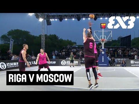 Riga v Moscow - Full Game - Final - FIBA 3x3 Nanjing Challenger 2018