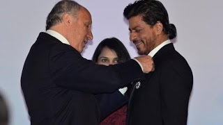 Shah Rukh Khan Conferred With