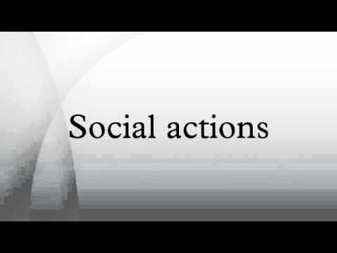 Social actions