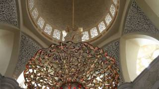 Inside the Shaikh Zayed Mosque prayer hall [1080p HD]