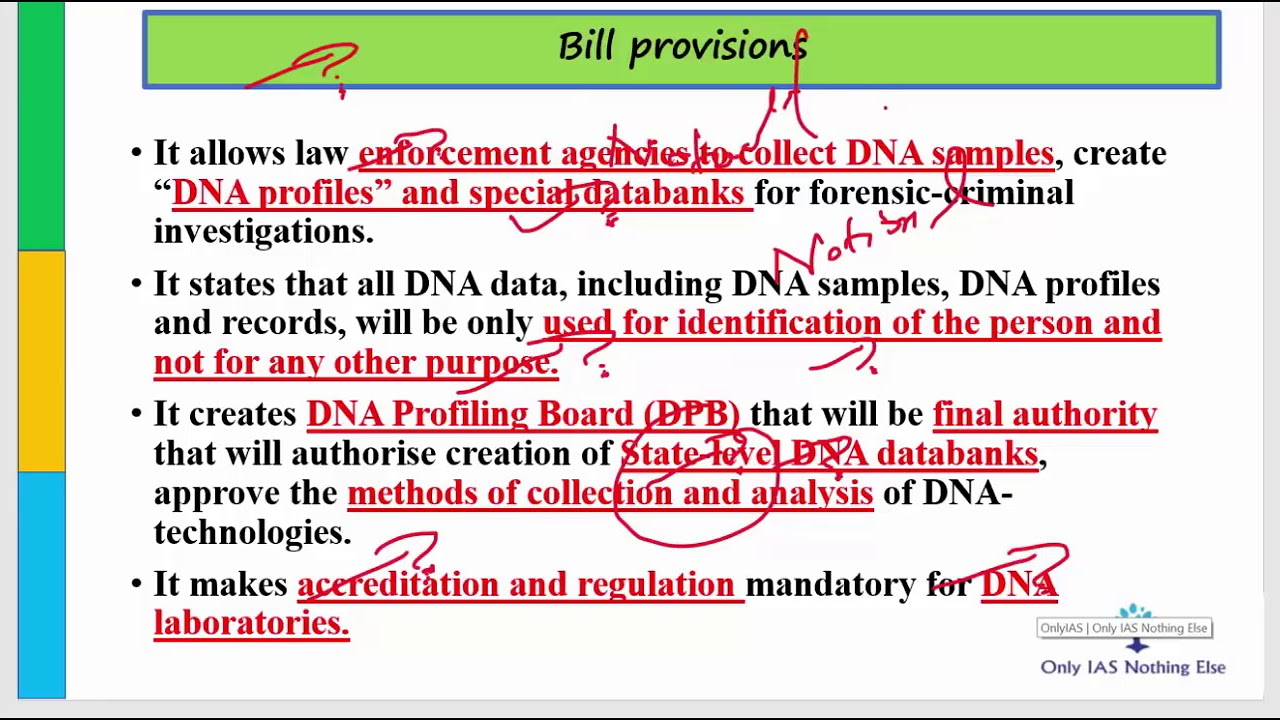 The DNA Based Technology(Use and Regulation) Bill 2018_28-July