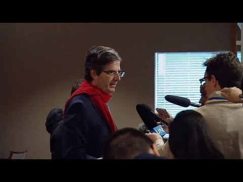 François Delattre (France) on the DPR Korea - Security Council Media Stakeout (15 December 2017)