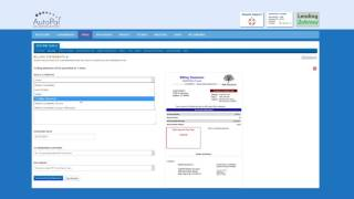 This video gives instruction on using the billing tool in autopal software. see https://www.autopalsoftware.com