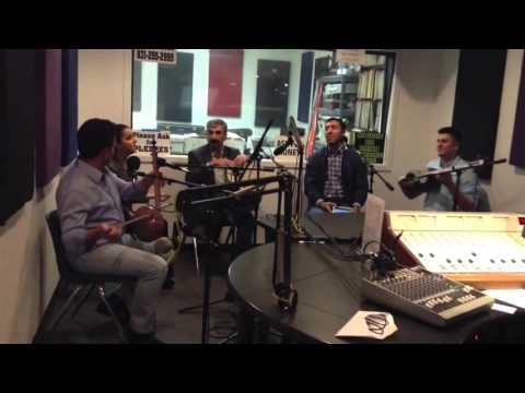 "IMAMYAR HASANOV AND AZERI GROUP AT THE ""KKUP RADIO STATION"" SAN JOSE , CA"