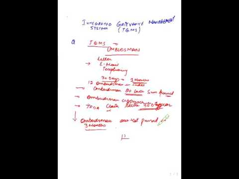 IC 38 CHAPTER 2 AND 3 LIFE INSURANCE CUSTOMER SERVICE AND GRIEVANCE REDRESSAL MECHANISM