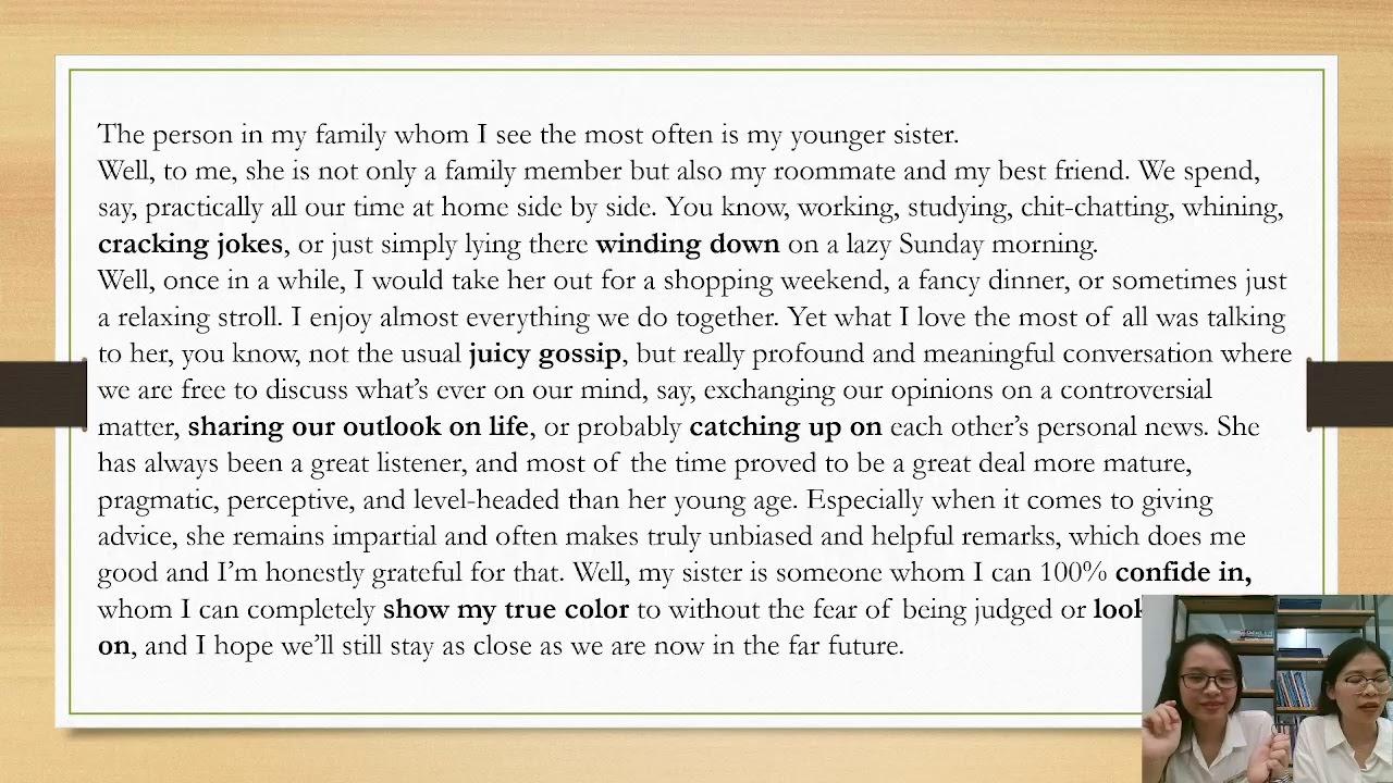 [LIVESTREAM SỐ 1] - IELTS SPEAKING: HAPPINESS & FAMILY