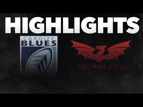 Guinness PRO14 Round 10: Cardiff Blues V Scarlets Highlights
