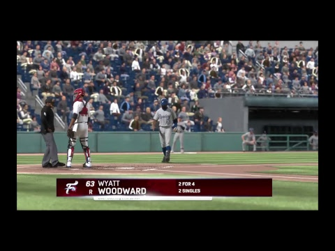 Mlb The Show 17 Road To The Show Right Field Wyatt Woodward episode 2