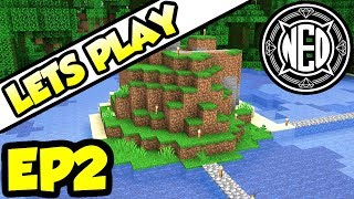 Private Jungle Island | Minecraft 1.14 Let's Play Ep. 2 (TheNeoCubest)