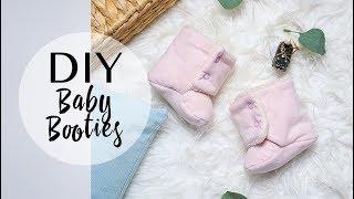 Шьем теплые ботиночки для малыша (ОБНОВЛЕННАЯ ВЕРСИЯ)