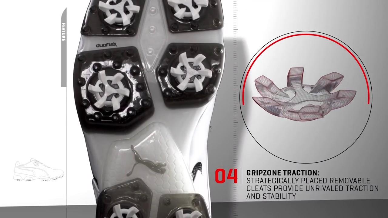 59c659a287b7 Puma Ignite Spikeless Sport Disc Golf Shoes - YouTube