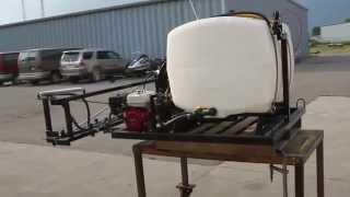 UTV Sprayer - 11 tip 18' Spray - Electric Control - Breakaway Booms