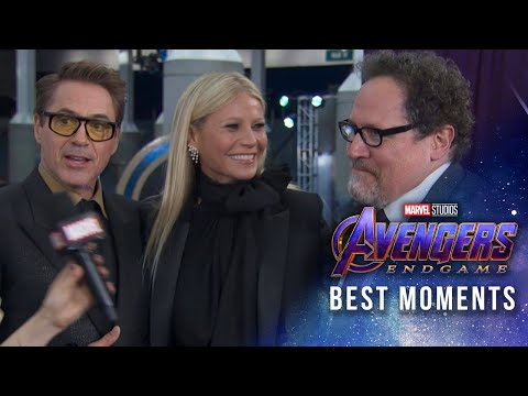Marvel Studios' Avengers: Endgame Red Carpet | Best Moments!