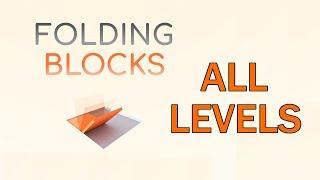 Folding Blocks Level 1-200 WALKTHROUGH   Complete Solutions
