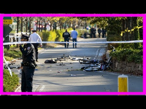 US Newspapers - Nyc terror attack: manhattan bike path where 8 were killed lacked safety barriers