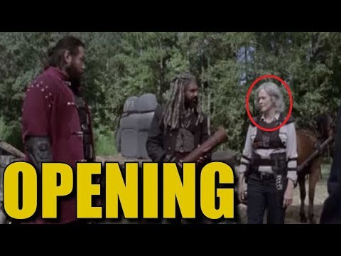 The Walking Dead Season 9 Episode 11 Opening Minutes Breakdown - TWD 911 Looks Interesting