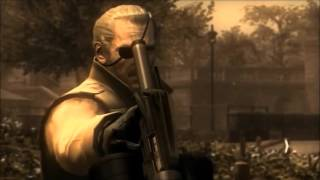 MGS4: Guns of the Patriots ft. Kiefer Sutherland as Big Boss