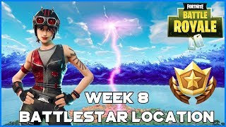 SEARCH BETWEEN 3 GIANT CHAIRS - WEEK 8 BATTLESTAR LOCATION - FORTNITE BATTLE ROYALE