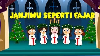 Janjimu seperti fajar + 7 lagu natal | Kumpulan 14 minutes | Christmas Songs Compilation in Bahasa