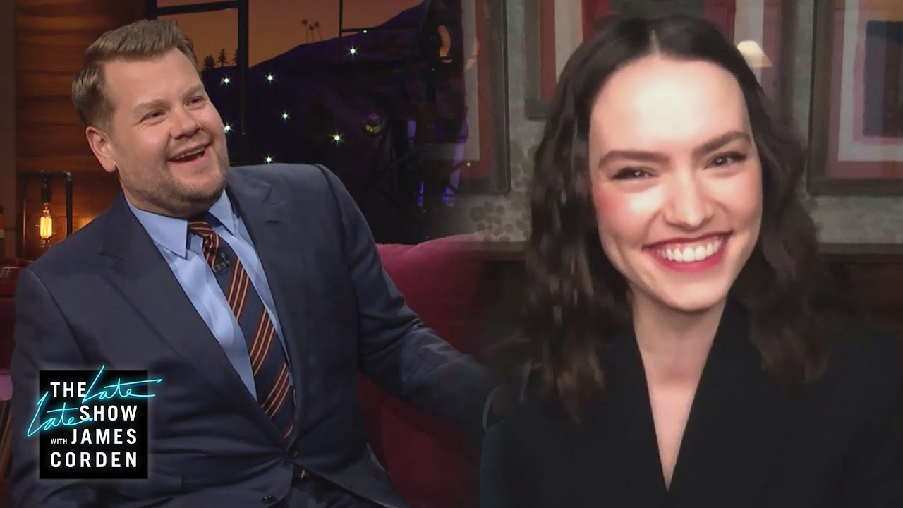 Daisy Ridley Gives James a French Lesson