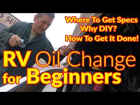 How To | RV Oil Change For Beginners Ford F53 Chassis
