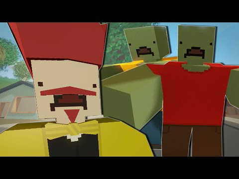 Unturned | ALLERGIC TO ZOMBIES?!