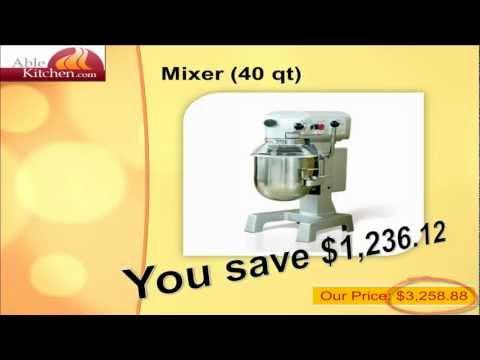 Mixers - Commercial & Wholesale Restaurant Mixers