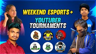 😱Tamilnadu Esports & Youtuber Weekend Tournament Live PVS , SQ , SINGAM ,KO - Garena Free Fire