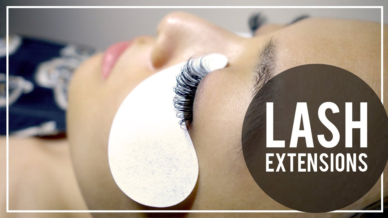 Lash Extensions My Experience Tips Youtube
