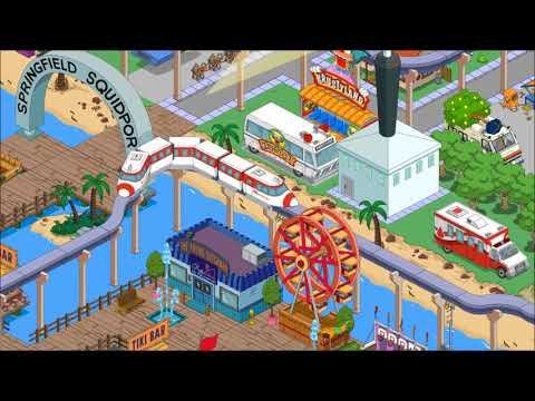 The Simpson Tapped Out Best Squidport Monorail (Port Calamar)