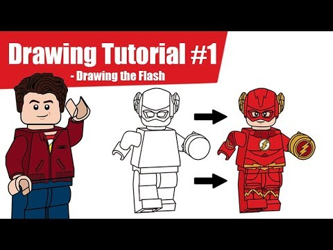 Drawing Tutorial #1 - Drawing the Flash