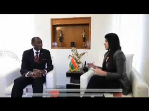 An interview with H.E. Mr. Idriss Raoua OUEDRAOGO, Ambassador of Burkina Faso to India