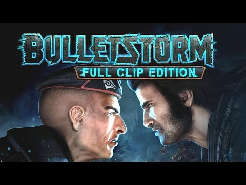 Bulletstorm: Full Clip Edition All Cutscenes (Game Movie) PS4 PRO HD