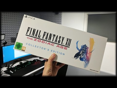 Meine Neue Collector's Edition Unboxing | Final Fantasy XII - The Zodiac Age