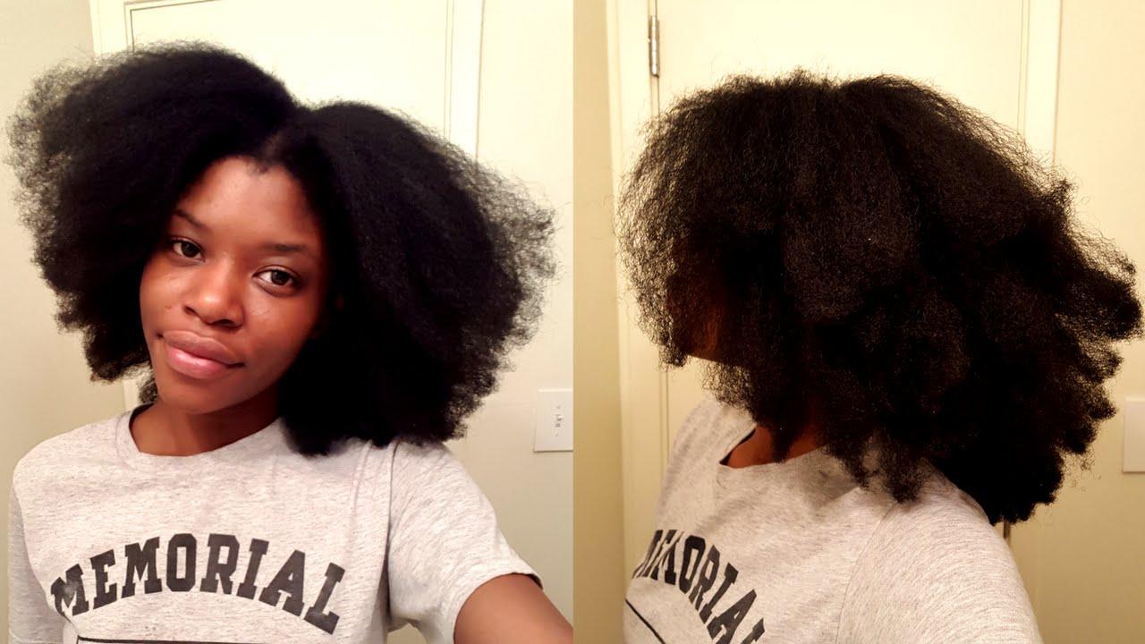Trim Natural Hair Tutorial