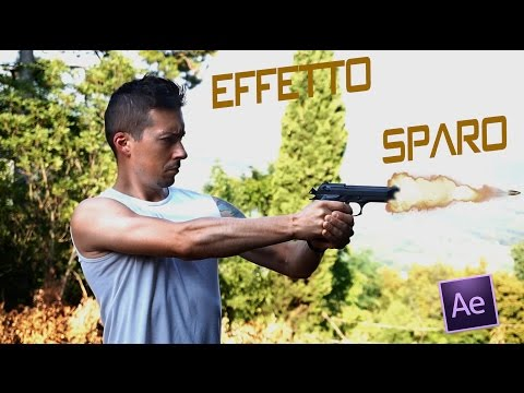 Tutorial:  Effetto sparo REALE / REAL Shotgun effect with AE