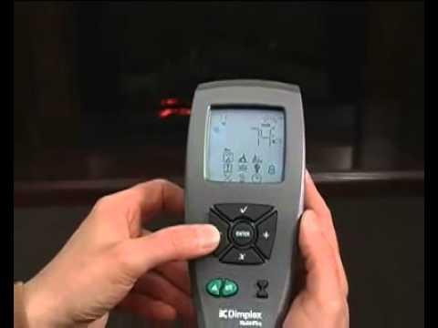 Dimplex Multi Fire Remote Control Setup Part 1 Youtube
