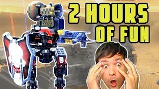 War Robots Full Mk-2 Weapons Live Stream Export - 2 Hours
