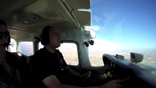 C172 Flight from Tracy KTCY to Westover Amador KJAQ