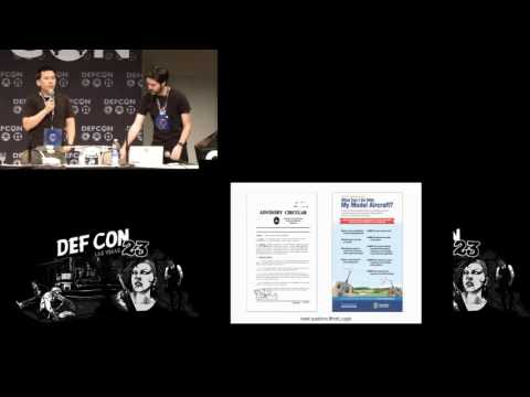DEF CON 23 - Matt Cagle and Eric Cheng - Who Will Rule the Sky: The Coming Drone Policy