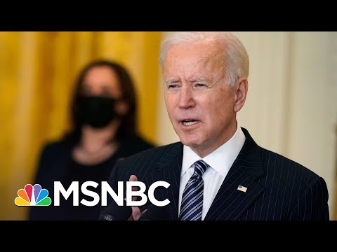 Biden Marks 100 Million Vaccines: 'We Will Not Stop Until We Beat This Pandemic' | MSNBC