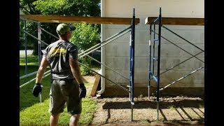 How To Set Up Scaffolding Solo