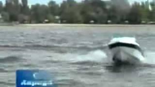 Тест катера Анрида 570(Видео испытаний катера Анрида 570 версии