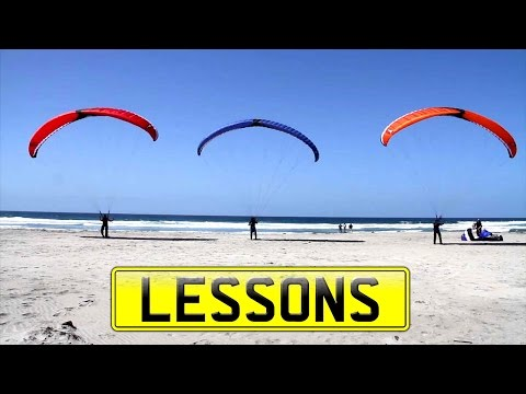Powered Paragliding Lessons With BlackHawk Paramotors in La Salina Mexico